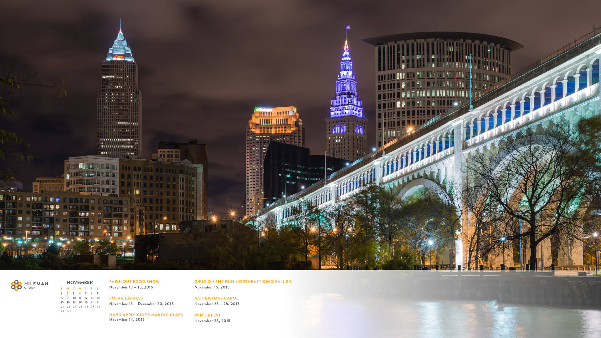 Free Cleveland Skyline Desktop ...