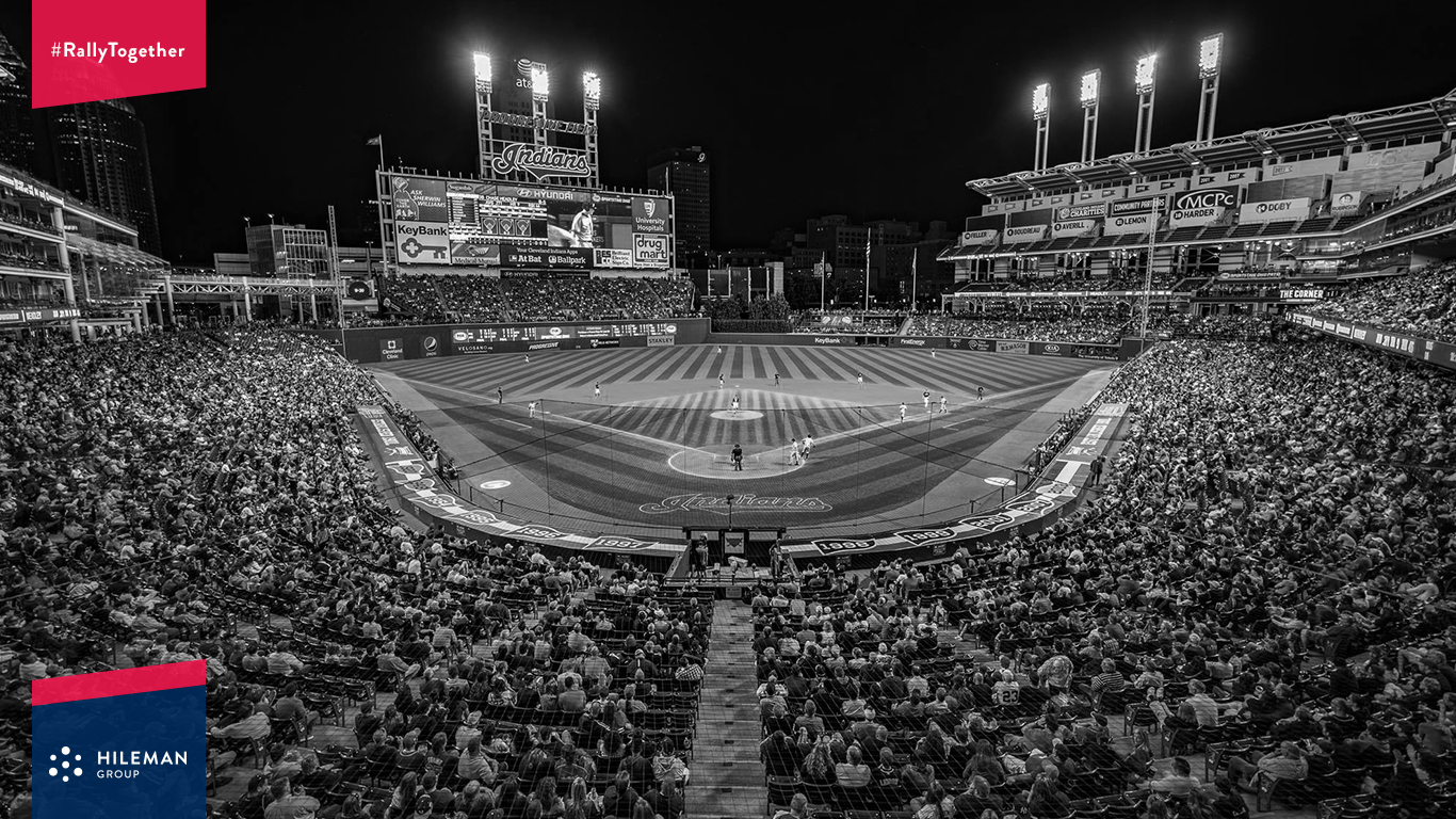 celebrate the cleveland indians with a desktop wallpaper